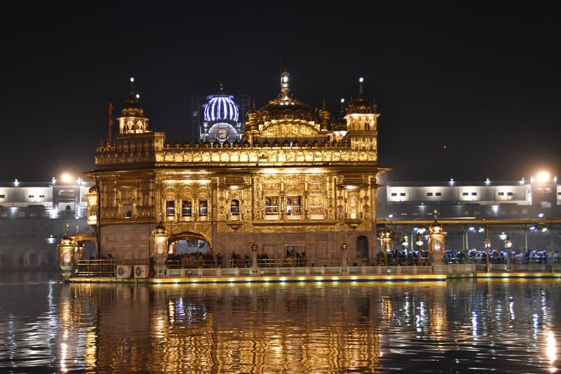 The Gorgeous Golden Temple