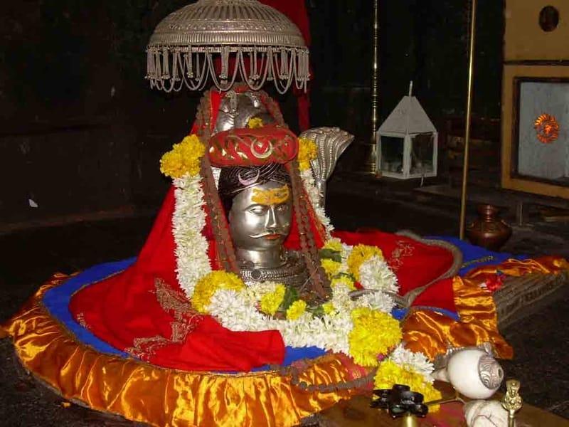 The Jyotirlinga at the Bhimashankar Temple