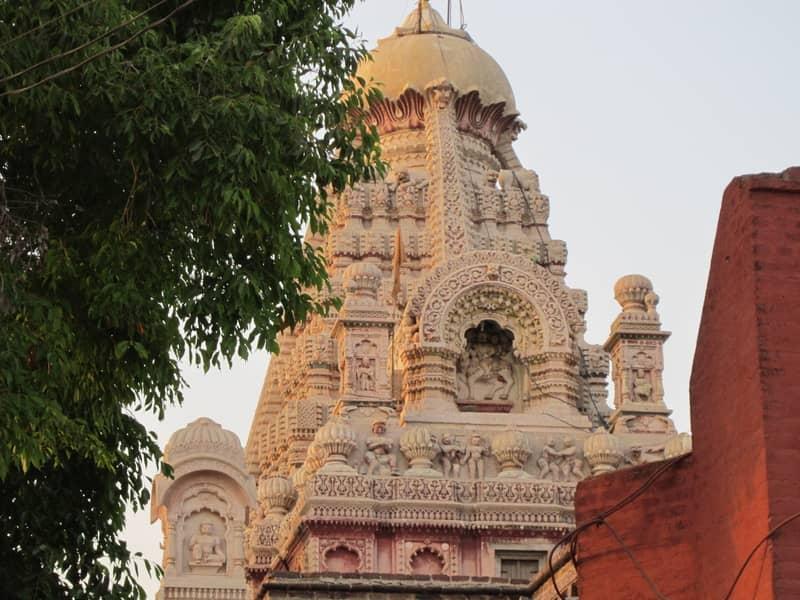 The Jyotirlinga at the Grishneshwar Temple