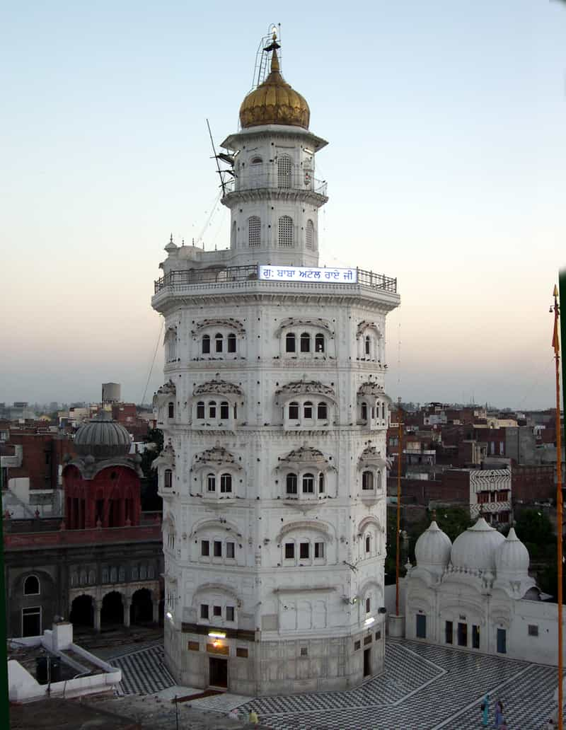 The octagonal gurudwara