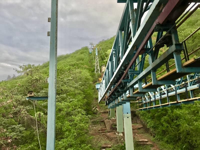 View from Kailasagiri Ropeway