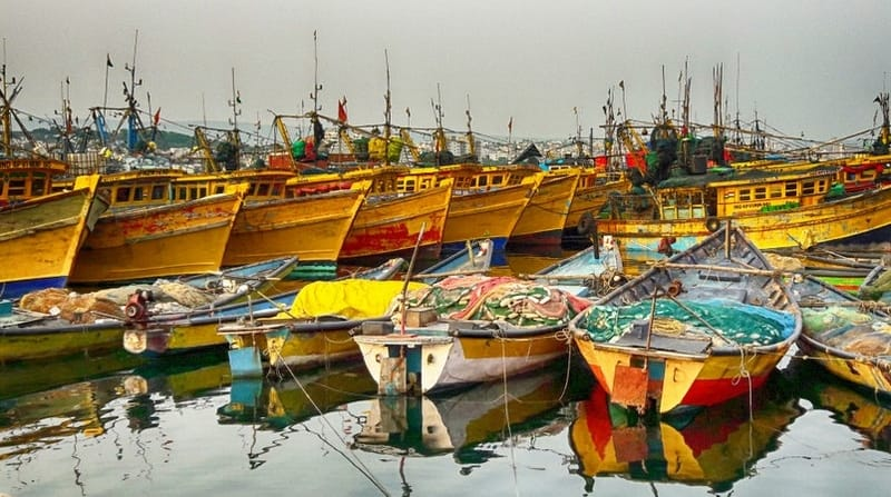 Vizag Fishing Harbour