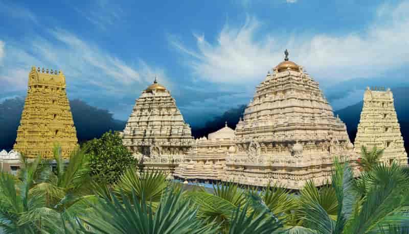 Hindu Narasimha temple at Simhachalam
