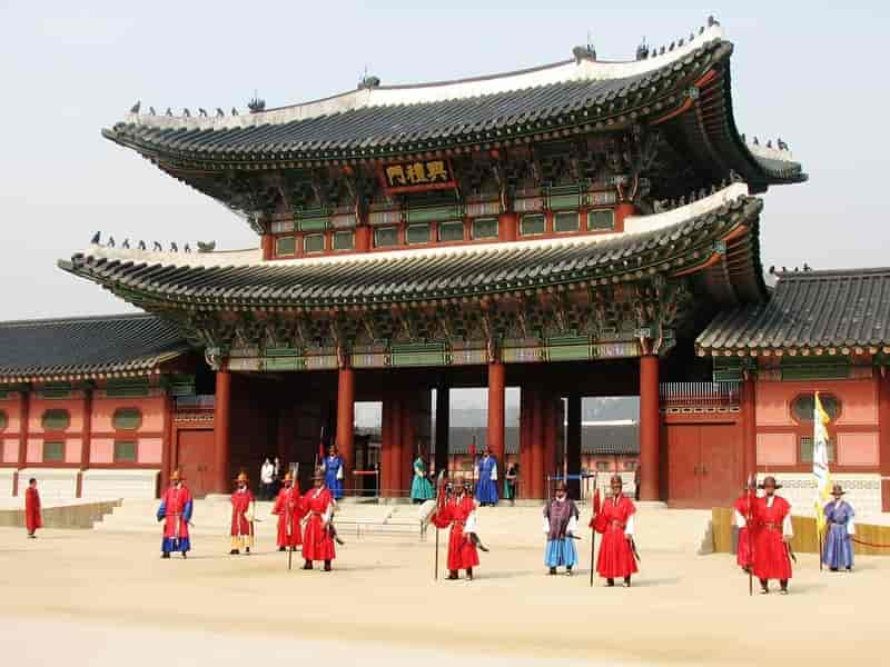 A Tourist Site in South Korea