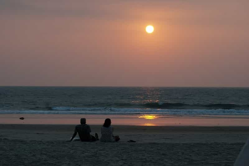 Couple on a Beach in Goa