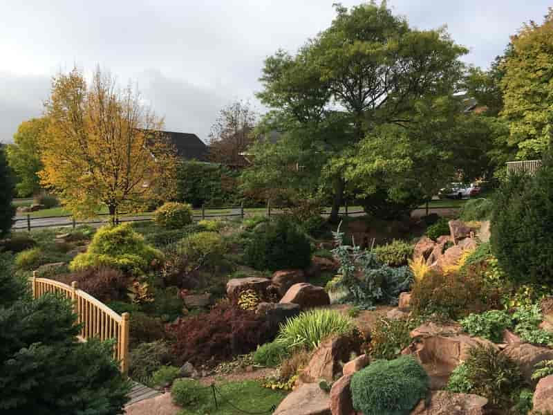 The Rock Garden in Dalhousie