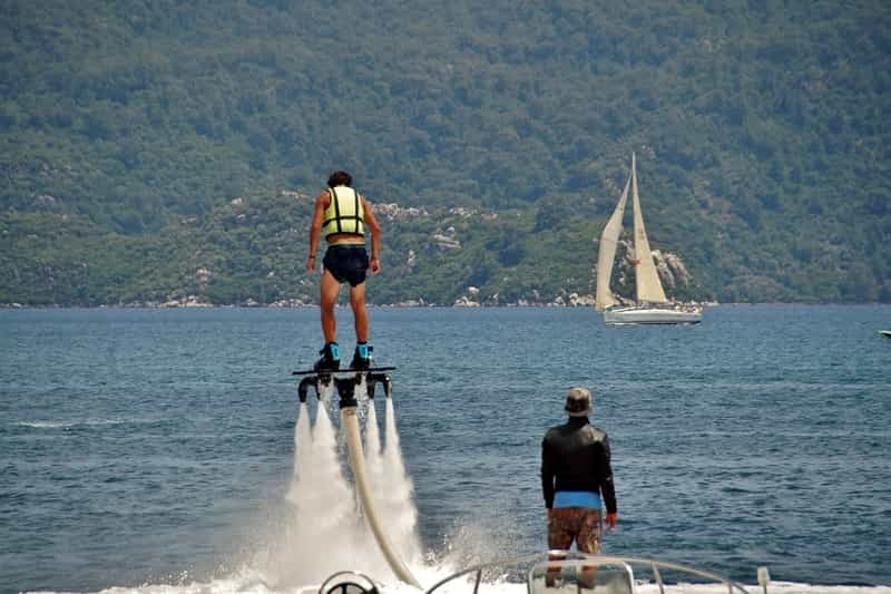 Try Flyboarding in Goa