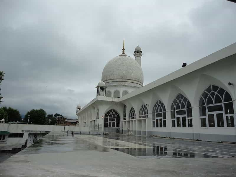 The Hazratbal Mosque