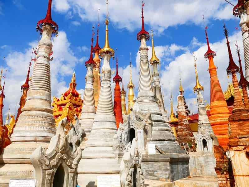 Visit the Stupas in Myanmar