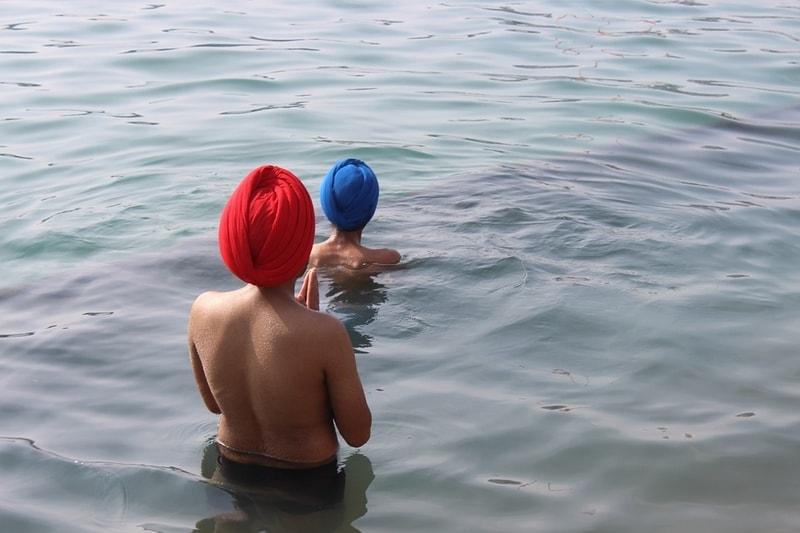A holy dip