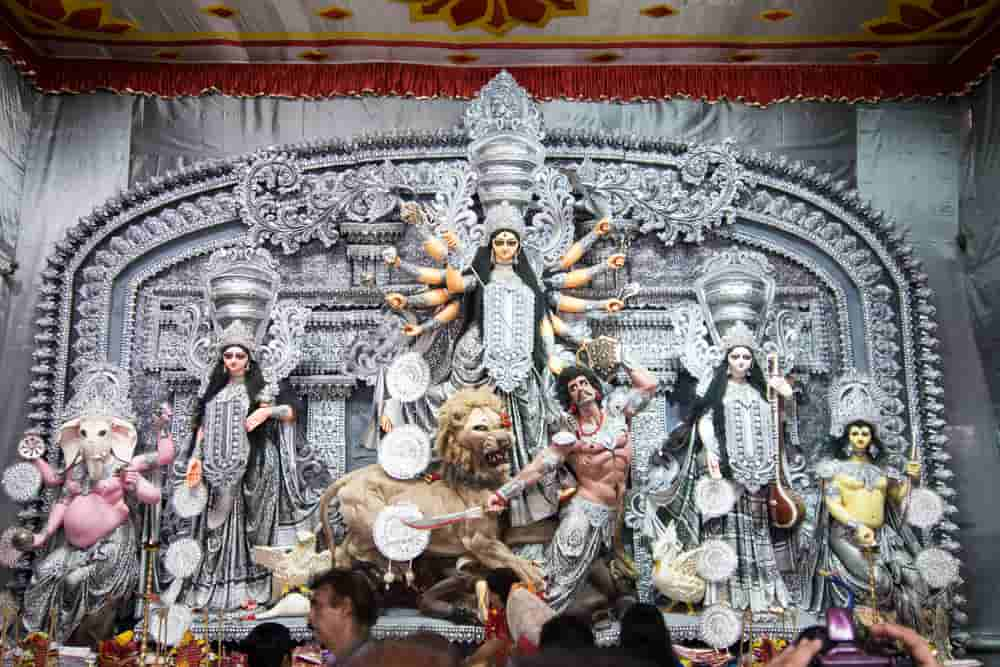 Durga Pujo in Kolkata